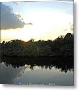 Rusty Belly Resturant View  Metal Print