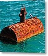 Rusty Bobber Metal Print