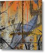 Rusty Crow  Metal Print