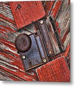 Rusty Dusty And Musty Metal Print