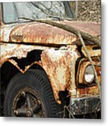 Rusty Ford Metal Print