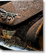 Rusty Impe Metal Print by DigiArt Diaries by Vicky B Fuller