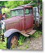 Rusty Is Retired Metal Print