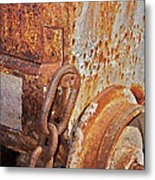Rusty Metal Metal Print