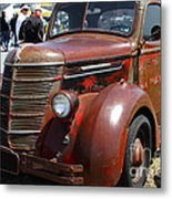 Rusty Old 1935 International Truck . 7d15497 Metal Print by Wingsdomain Art and Photography