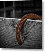Rusty Shoe Metal Print
