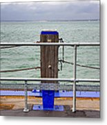 Ryde On The Solent Wharf Metal Print