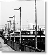 S-bahn To Berlin Metal Print