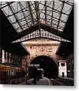 S. Bento Trainstation Metal Print
