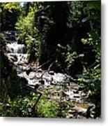 Sable Falls Grand Marais Mi Metal Print