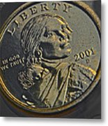 Sacagawea 2001 Metal Print