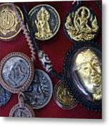 Sacred Amulets Metal Print
