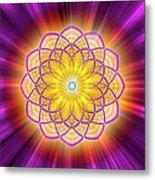 Sacred Geometry 110 Metal Print