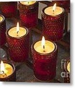 Sacrificial Candles Metal Print