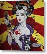 Sacrificial Geisha Metal Print