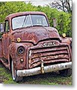 Sad Truck Metal Print