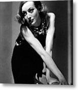 Sadie Mckee, Joan Crawford, 1934 Metal Print