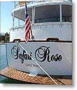 Safari Rose Lake Tahoe Metal Print
