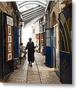 Safed Galilee Artists Quarter Metal Print