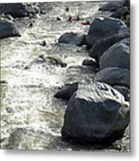 Safely Through The Boulders Metal Print