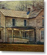 Saggy Porch Metal Print