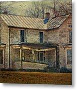 Saggy Porch Metal Print by Kathy Jennings