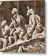 Sagrada Familia Barcelona Nativity Facade Detail Metal Print