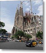 Sagrada Familia Barcelona Metal Print