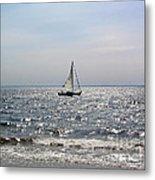 Sail Alone Metal Print