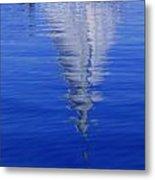 Sailboat On Water Metal Print