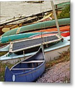 Sailboats Metal Print by Methune Hively
