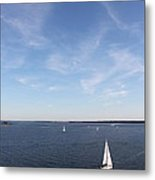 Sailing Charleston Harbor Metal Print
