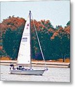 Sailing Day Metal Print