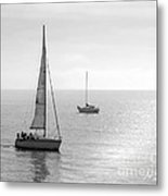 Sailing In Calm Waters Metal Print