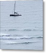 Sailing In For The Evening Metal Print