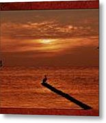 Sailing Into The Sunset Metal Print by Tom York Images