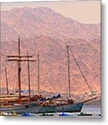 Sailing Ships Metal Print