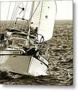 Sailing The Icw -1 Metal Print