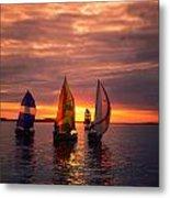 Sailing Yachts Metal Print
