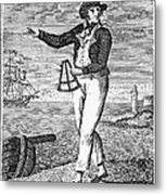 Sailor, 18th Century Metal Print