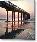 Saint Augustine Beach Sunrise Metal Print