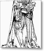 Saint Cecilia Metal Print by Granger