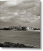 Saint-malo From Dinard. Metal Print