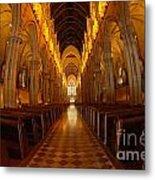 Saint Marys Church Interior 3 Metal Print