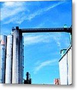 Saint Mary's Grain Mill Metal Print