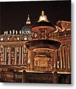 Saint Peter's Basilica Metal Print