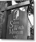 Salem Witch Museum Metal Print