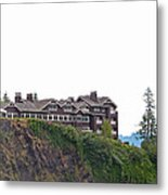 Salish Lodge And Spa Metal Print