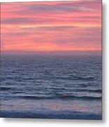 Salmon Creek Sunset Metal Print