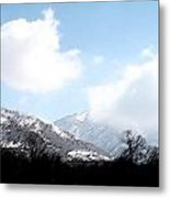 Salt Lake City Digital Metal Print